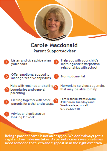 Carole Macdonald Parent Support Advisor