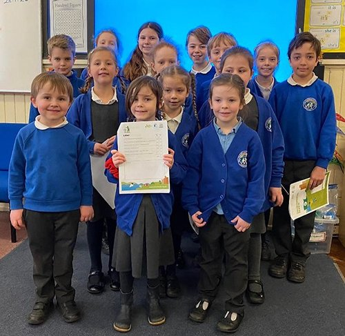 Our Eco Committee: Year R- Charlie and Olivia; Year 1- Sabrina and Molly; Year 2- Florence and Florey; Year 3- Poppy and Isaac; Year 4 -Raf and Solara; Year 5- Amaya and Toby; Year 6- Chloe and Theo