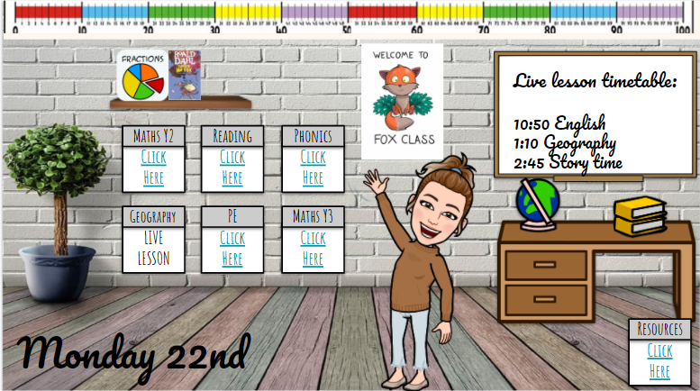 Fox Class Virtual Classroom
