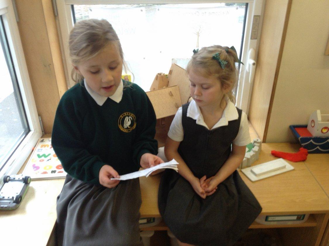 Reading to Cherry