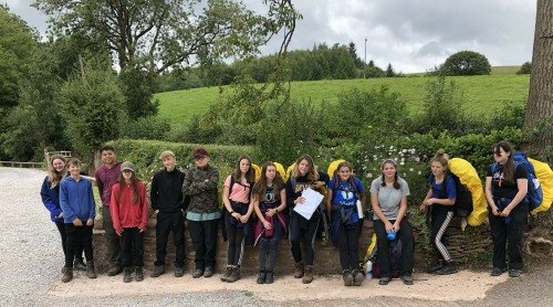 Year 9 Sucessfully complete their Duke of Edinburgh