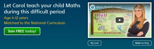 Carol Vorderman launches free Mathsfactor Classes