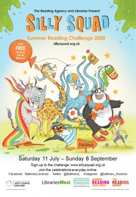 Reading Challenge 2020 - Silly Squad