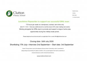 Playworker Vacancy