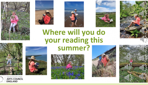 Summer Reading Challenge - where will you read this summer?