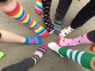 Odd socks fundraiser