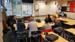 Norton Hill School hosts European Teachers
