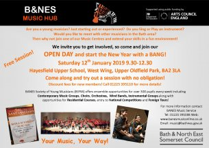 Banes MUSIC HUB WORKSHOPS