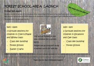 Forest School Launch April 2019